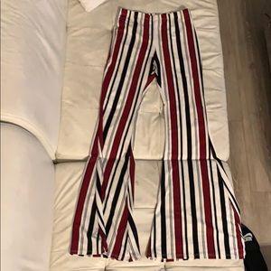Brand new F21 flare pants